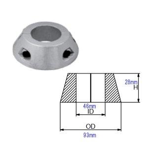 321000<br>MAX Prop  S Drive Ring Zinc 83mm w/38-40 shaft <br>(CMMP83SDZ)