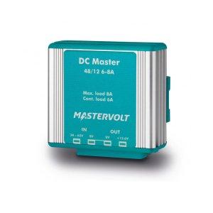 710037<br>Mastervolt DC Master コンバーター 48/12-6A (6 A cont. / 8 A 2 min.)<br>(81400600)