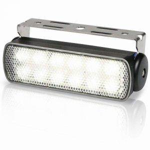 740304<br>Hella Sea Hawk LED デッキライト Black スポット3W 2連<br>(2LT980670201)