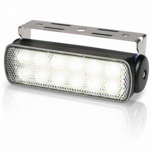 740306<br>Hella Sea Hawk LED デッキライト Black スプレッド 3W2連<br>(2LT980670301)
