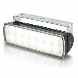 740332<br>Hella Sea Hawk-XLR 18W LED作業灯 黒ケース SPRED<br>(2LT980740001)