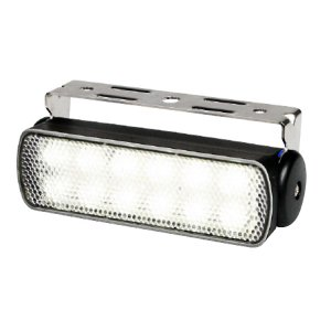 740342<br>Hella Sea Hawk-R 7W LED作業灯 黒ケース SPREAD<br>(2LT980573011)