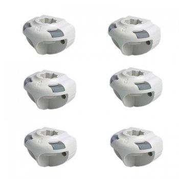 750007<br>Railblaza SidePort サイドマウント White 6個セット