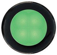 M-740703<br>SL ラウンド24V Green, 黒リム(LED)