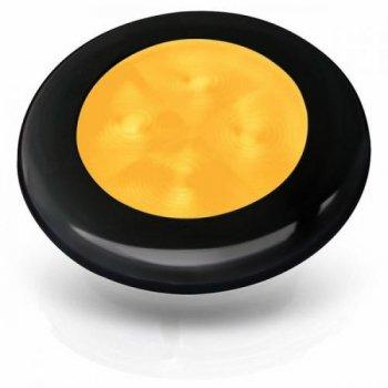 M-740705<br>SL ラウンド24V Amber-Light, 黒リム(LED)