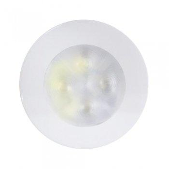 M-740430<br>ラキノライト  クールホワイト Spot 白リム 12V(LED・天井灯)