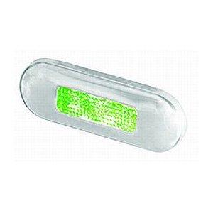 M-740851<br>Hella LED ステップランプ Green SSリム<br>(2XT959680911)