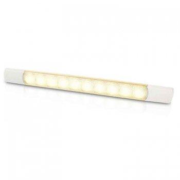 741082<br>Hella LEDストライプランプスイッチ付 12V ウォームホワイト3.0W<br>(2JA958123101)