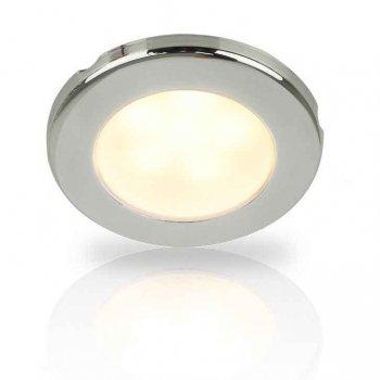 741202<br>Euro 75 LED ウォームホワイト12V SS Rim スクリューMt<br>(2JA 958 109-02)
