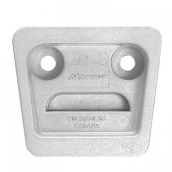 326429<br>CanadaMetal ボルボ(Gimbal Plate for SX Drive)アルミアノード<br> (CM3854130A)