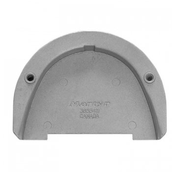 326430<br>CanadaMetal ボルボ(Transom Plate for SX drive)アルミアノード<br> (CM3855411A)