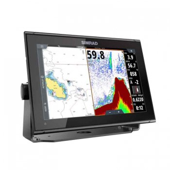 420392<br>Simrad GO12 XSE with TotalScan w/NewPecチャート<br> (000-14441-001)