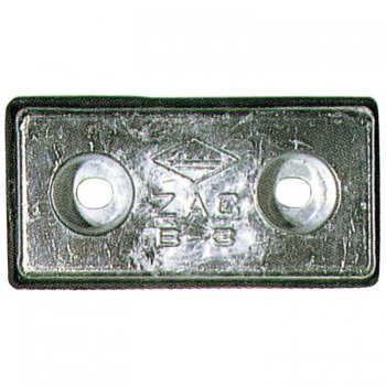 320231<br> アルミ防蝕板CA-8A (20x100 x 200)<br> (CA-8A)