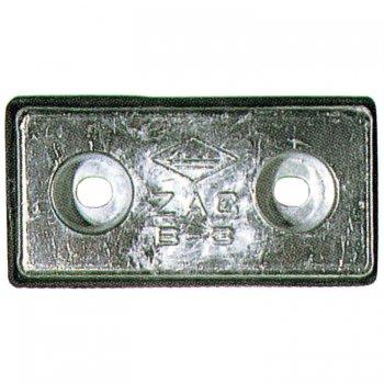 320232<br> アルミ防蝕板CA-8B (30x100 x 200)<br> (CA-8B)