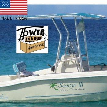 405302<br>24〜30フィートオープンタイプボートの為のT-TOP ハイレグ<br>(TIB53/54/55KD)