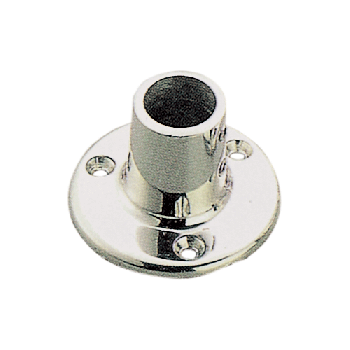 403201<br> パイプフィッティング90゚丸 ベース SUS 22mm <br> (KH86039)