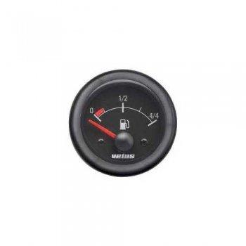 601992<br>VETUS 燃料計表示器    12/24v  52 mm (63mm) <br>(FUELW)