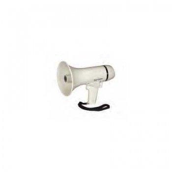 200853<br> パワーメガホン拡声器 サイレンスイッチ付 150x237mm<br> (KH30228S)
