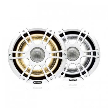 """500275<br>Fusion シグネチャー7.7""""280W White Sports スピーカーRGBWW LED<br>(SG-FL772SPW)"""