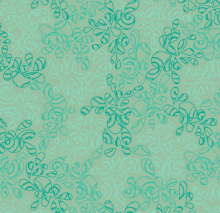 NE-113 Blue Green  -Nature Elements  コットン100%