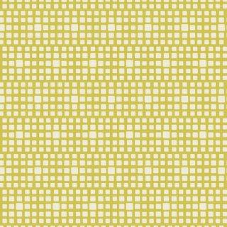 CST-3201 King's Road Lemon  -Squared Elements   コットン100%