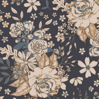 FUS-T-1409 Floral Universe Trinkets - Trinkets Fusion コットン100%