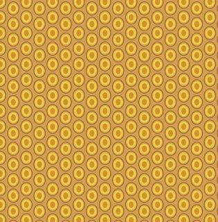 OE-921 Mustard -Oval Elements  コットン100%