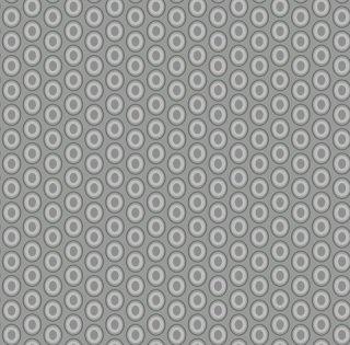 OE-927 Silver Drops-Oval Elements  コットン100%