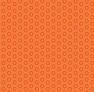 OE-928 Tangerine Tango-Oval Elements  コットン100%
