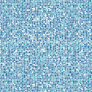 <img class='new_mark_img1' src='https://img.shop-pro.jp/img/new/icons3.gif' style='border:none;display:inline;margin:0px;padding:0px;width:auto;' />WPA-54507 Plash Mosaic Azure - West Palm コットン100%