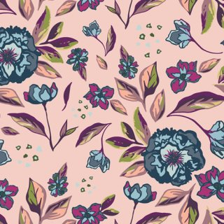 <img class='new_mark_img1' src='https://img.shop-pro.jp/img/new/icons3.gif' style='border:none;display:inline;margin:0px;padding:0px;width:auto;' />MSL-13960 Enchanted Flora Ablush - Mystical Land コットン100%
