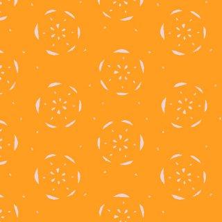 <img class='new_mark_img1' src='https://img.shop-pro.jp/img/new/icons3.gif' style='border:none;display:inline;margin:0px;padding:0px;width:auto;' />FSH-27407 Citrus Tangerina - Floralish コットン100%