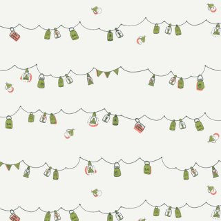 <img class='new_mark_img1' src='https://img.shop-pro.jp/img/new/icons3.gif' style='border:none;display:inline;margin:0px;padding:0px;width:auto;' />DWM-45605 Playful Mini Bunting- Dew & Moss コットン100%