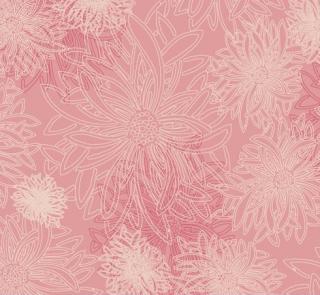 FE-502 Blush -Floral Elements コットン100%