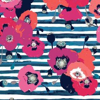 SK-34600 Paparounes Crimson -Timeless Prints