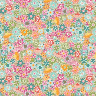<img class='new_mark_img1' src='https://img.shop-pro.jp/img/new/icons3.gif' style='border:none;display:inline;margin:0px;padding:0px;width:auto;' />PLR-89807 Flowers All Around -Playroom コットン100%