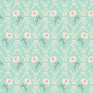 LMB-18725  Little Floriculturist -Lambkin【カット販売】 コットン100%