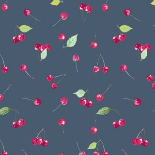 FSH-17403 Cherry Picking- Floralish【カット販売】 コットン100%