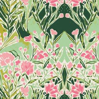 BLB-54724 Ms Woolf Freshwater- Bloomsbury 【カット販売】 コットン100%