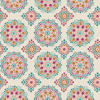 <img class='new_mark_img1' src='https://img.shop-pro.jp/img/new/icons3.gif' style='border:none;display:inline;margin:0px;padding:0px;width:auto;' />FUS-M-2004 Mandala Drops Marrakesh -Marrakesh Fusion コットン100%