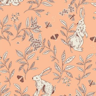 MEW-36304 Cottontail Playful- Meriwether 【カット販売】 コットン100%