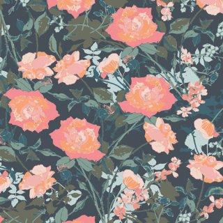 PIC-39450 Rosemantic Trellis Dim -Picturesque コットン100%
