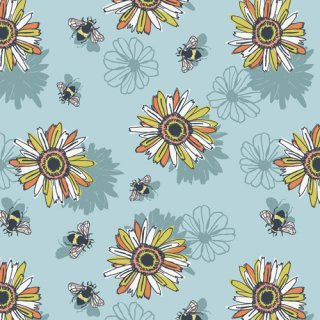 PLN-94508 Nectarlove -Pollinate コットン100%