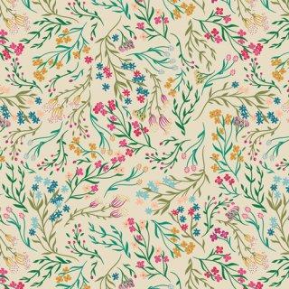 TFS-99108 Windswept Illuminated  -The Flower Society コットン100%