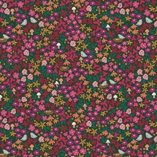 TFS-99109 Striking Gardenista  -The Flower Society コットン100%