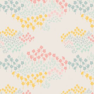 DDR-25450 Flutterby Flowers -Daydream 【カット販売】 コットン100%