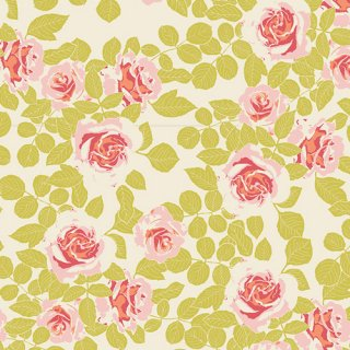 <img class='new_mark_img1' src='https://img.shop-pro.jp/img/new/icons3.gif' style='border:none;display:inline;margin:0px;padding:0px;width:auto;' />CUL-8678 Pruning Roses Citrus -Timeless Prints コットン100%