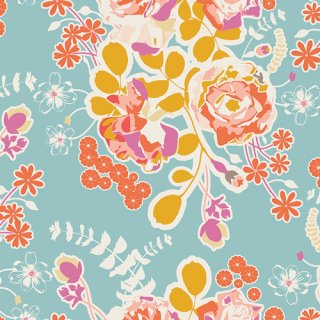 <img class='new_mark_img1' src='https://img.shop-pro.jp/img/new/icons3.gif' style='border:none;display:inline;margin:0px;padding:0px;width:auto;' />SAH-1600 Orchard Blossom Spring -Timeless Prints コットン100%