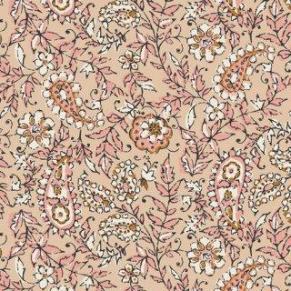 KSM-73305 India Ink Parchment - Kismet 【カット販売】 コットン100%