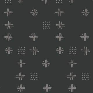 KSM-73306 Mudcloth Sable - Kismet 【カット販売】 コットン100%